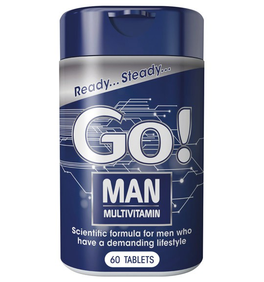 Go! Man Tablets - 60's