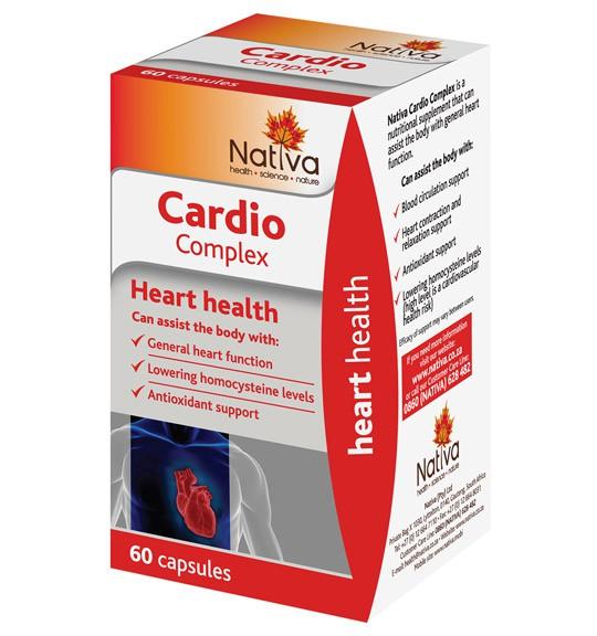 Nativa Cardio Complex Capsules - 60's