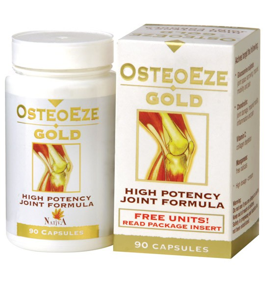 OsteoEze Gold Capsules - 90's