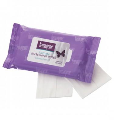Femagene Intimate Refreshing Wipes - 6x10's