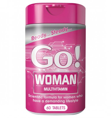 Go! Woman Tablets - 60's