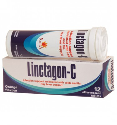 Linctagon-C Effervescent Tablets Orange - 12's