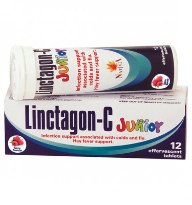Linctagon-C Junior Effervescent Tablets  Berry - 12's