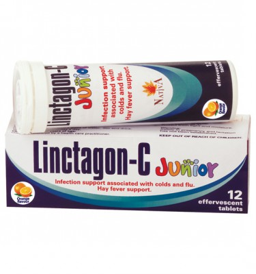 Linctagon-C Junior Effervescent Tablets  Orange - 12's