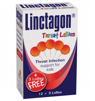 Linctagon Throat Lollies - 12's
