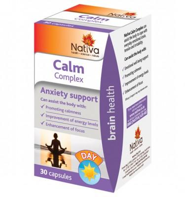 Nativa Calm Complex Capsules - 30's