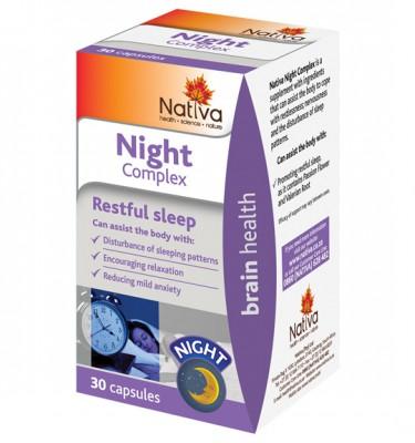 Nativa Night Complex Capsules - 30's