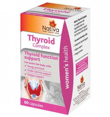 Nativa Thyroid Complex Capsules - 60's