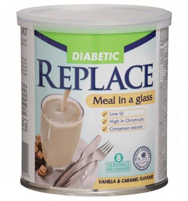 Replace Diabetic Shake Caramel Vanilla - 425 g