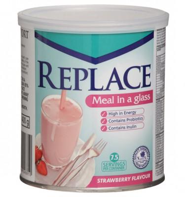 Replace Shake Strawberry - 400 g