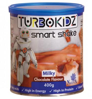 TurboKidz Smart Milky Shake Chocolate - 400 g