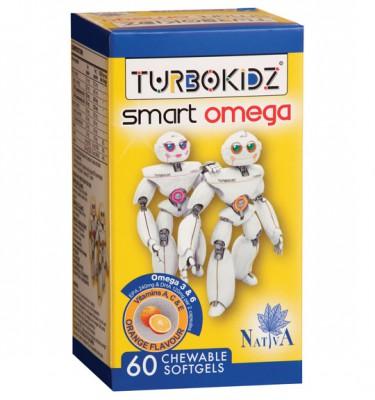 TurboKidz Smart Omega Chewables Orange - 60's