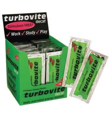 Turbovite Decaf Syrup Sachets - 48 x 10 ml