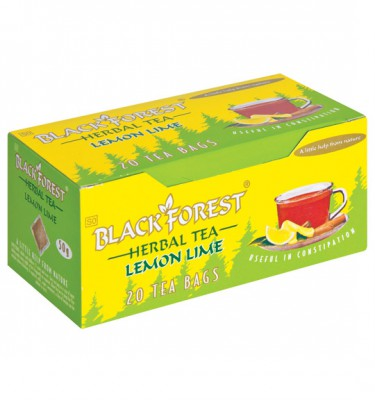 Black Forest Tea Lemon & Lime - 20's