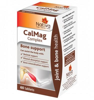 Nativa Calmag Complex Tablets - 60's