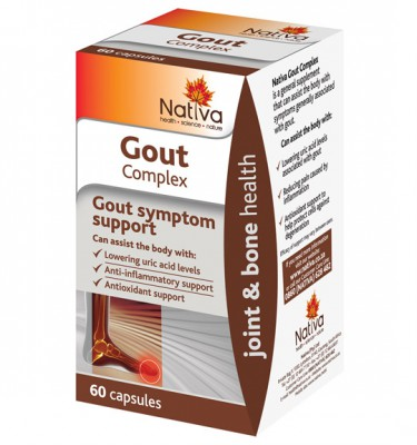 Nativa Gout Complex Capsules - 60's