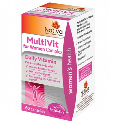 Nativa MultiVit for Women Complex Capsules - 60's
