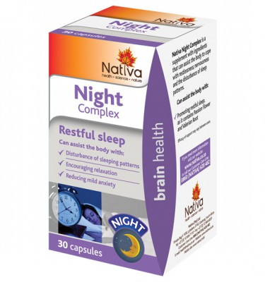 Nativa Night Complex Capsules - 30's