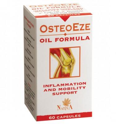OsteoEze Oil Formula Capsules - 60's