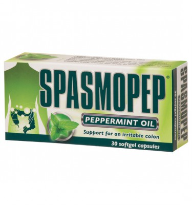 Spasmopep Peppermint Oil Softgel Capsules