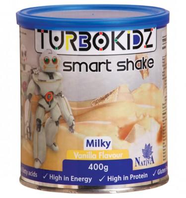 TurboKidz Smart Milky Shake Vanilla - 400 g