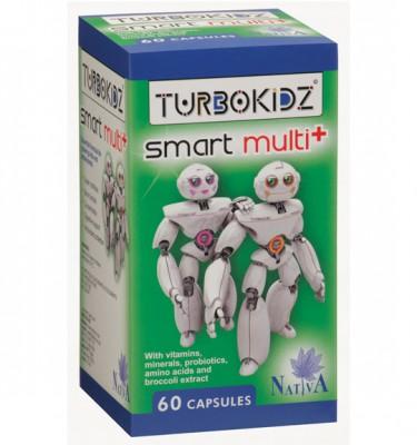 TurboKidz Smart Multi+ Capsules - 60's