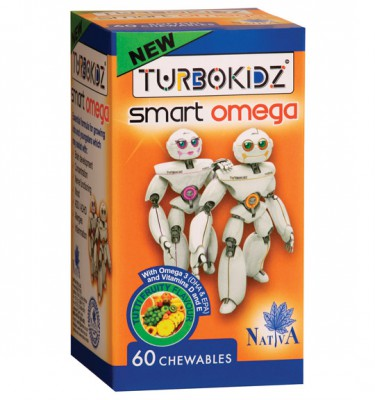 TurboKidz Smart Omega Chewables Tutti Fruity - 60's